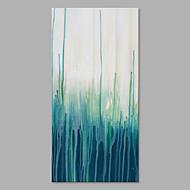 baratos -Pintados à mão Abstrato Vertical, Artistíco Tela de pintura Pintura a Óleo Decoração para casa 1 Painel