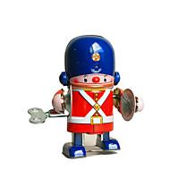 Robotti Vedettävä lelu Retro Ompelukone Robotti Rumpusetti Takorauta Rauta Vintage Retro Pieces Unisex Lelut Lahja
