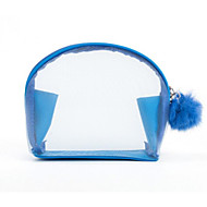 Damen Taschen Ganzjährig Nylon Kosmetik Tasche mit für Normal Blau Schwarz Rosa