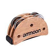 Ammoon eliptic cajon caseta toba insotitor accesoriu picior jingle tamburina pentru instrumente de percutie mana burlywood