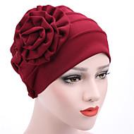 Dame Hat / Blomst Blød Hat - Bomuld Blandet Farve, Patchwork / Sommer