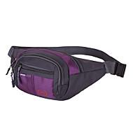 Herren Taschen Frühling/Herbst Sommer Nylon Hüfttasche für Sport Marineblau Himmelblau Rot Rosa Violett