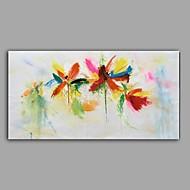 halpa -Maalattu Asetelma Horizontal,Abstrakti 1 paneeli Kanvas Hang-Painted öljymaalaus For Kodinsisustus