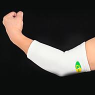 billige Sportsstøtter-Albuestøtte til Avslappet Badminton Basketball Sykling / Sykkel Alle Svedtransporende Pustende Sport Avslappet 1pc