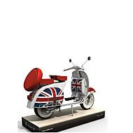 ieftine Toy Motociclete-Jucării pentru mașini / Puzzle 3D / Modelul de hârtie Moto Reparații / Simulare Hârtie Rigidă pentru Felicitări Clasic Motocicletă Pentru copii Unisex Cadou