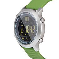 hhy ex18 smart klokke armbånd nyheter push luminous dial profesjonell stoppeklokke 50 meter super vanntett
