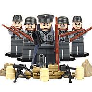 DILONG Blocos de Construir Bonecos em Blocos de Montar Brinquedo Educativo Guerreiro Eagle Crianças Unisexo Dom