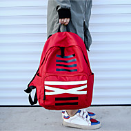 cheap Bags-Unisex Bags Oxford Cloth Backpack for Casual All Seasons Blue Black Red Gray