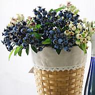 billiga Heminredning-Konstgjorda blommor 1 Gren Pastoral Stil Plantor Bordsblomma