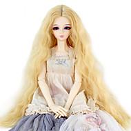 Naisten Tummanvaalea perverssi Synteettiset hiukset Doll Wig puku Peruukit