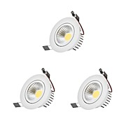 billige Innfelte LED-lys-9w cob dimmable led downlights led pære inkludert 3 stk høy kvalitet