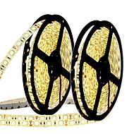 72W Fleksible LED-lysstriber 6950-7150 lm Jævnstrøm12 V 10 m 300 leds Varm Hvid Hvid Blå