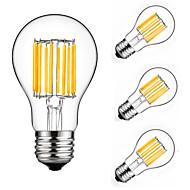 10W E27 LED-hehkulamput A60(A19) 10 ledit COB Koristeltu Lämmin valkoinen Kylmä valkoinen 900lm 2700-6500K AC 175-265V