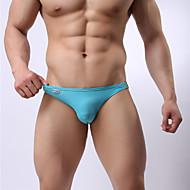 Muškarci Sportski Tamno siva Svjetloplav Navy Plava Gaće Gaćice Kupaći kostimi - Jednobojni M L XL Tamno siva / Ljeto / 1 komad / Super seksi