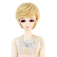 Naisten Synteettiset peruukit Laineikas Tummanvaalea Doll Wig puku Peruukit