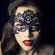 1pcs hete verkoop zwarte sexy dame kant masker oogmasker voor maskerade party fancy dress kostuum / halloween feest fancy
