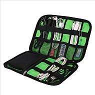 Waterproof Case Organizador de Mala Portátil Grande Capacidade Multi funções Organizadores para Viagem para Cabo USB Roupas Celular Náilon