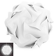 youoklight yk2266 diy球形のシャンデリアシーリングペンダントランプシェード - 白1個