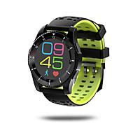 tanie Inteligentne zegarki-Inteligentny zegarek Ekran dotykowy Pulsometr Wodoszczelny Spalone kalorie Krokomierze Rejestr ćwiczeń Śledzenie odległości Anti-lost