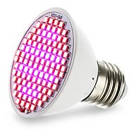 voordelige LED-verlichting-4.5W 2500-3000lm E27 Groeiende gloeilamp 106 LED-kralen SMD 2835 Blauw Rood 85-265V
