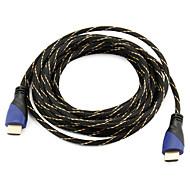 brzi HDMI kabel 1.4v podršku 3D Smart LED HDTV za, Apple TV, Blu-ray DVD-a (5 m)