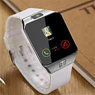 Pánské Módní hodinky Náramkové hodinky Inteligentní hodinky Digitální Pryž Kapela Černá Bílá Hnědá