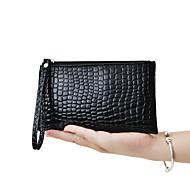 女性 バッグ オールシーズン PU 長財布 のために 結婚式 イベント/パーティー 日常 カジュアル ブラック