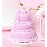 svadba favorizira ružičasti kolač svijeće - 5 x 5 x 5,5 cm - Beter gifts® životni stil