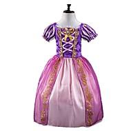 Déguisement Halloween Fille Princesse Conte de Fée Cosplay Robes Noël Halloween Carnaval Violet Costumes Carnaval