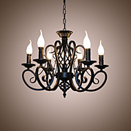 Cheap chandeliers online chandeliers for 2018 6 light candle style chandelier ambient light candle style 110 120v 220 240v bulb not included 10 15 e12 e14 aloadofball Choice Image
