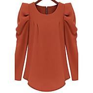 Bluza Žene Jednobojni Poliester