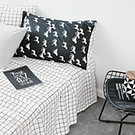cheap Sheet Sets & Pillowcases-Comfortable Cotton Fitted Sheet Stripe