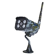billige Utendørs IP Nettverkskameraer-Escam® sentry qd900s 2mp full HD-nettverk ir ip kamera dag / natt ip66 onvif 1080p kamuflasje trådløs vanntett