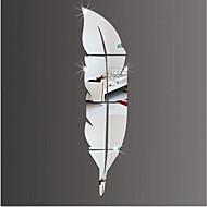 Kształty Naklejki Naklejki ścienne: lustro Dekoracyjne naklejki ścienne,Akrylowy Materiał Dekoracja domowa Naklejka