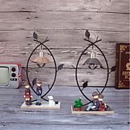 Huse Familie Fødselsdag Smijern Kunstnerisk Moderne / Nutidig Kul Halloween Jul Nyttår,Enkelt Dekorative tilbehør
