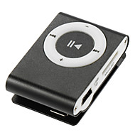 sanshuai® mini klips metall usb mp3 musikk media player