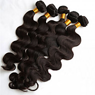 5Pcs/Lot 8-26inch Natural Color Human Hair Weaves Brazilian Texture Body Wave Human Hair Bundles