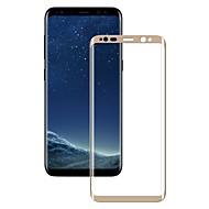 זכוכית מחוסמת מגן מסך ל Samsung Galaxy S8 Plus מגן מסך מלא קצה מעוגל 2.5D הוכחת פיצוץ עמיד לשריטות
