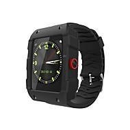 tanie Inteligentne zegarki-Inteligentny zegarek YYV18 na iOS / Android Pomiar ciśnienia krwi / GPS / Długi czas czuwania / Odbieranie bez użycia rąk / Ekran dotykowy Stoper / Krokomierz / Rejestrator aktywności fizycznej