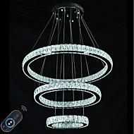 Dimmable led belysning innendørs moderne tak anheng lys lysekroner belysningsarmaturer med fjernkontroll