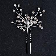 Legering Hovedtøj Hair Pin with Blomster 1pc Bryllup Speciel Lejlighed Halloween Jubilæum Fødselsdag Nyfødt Housewarming Tillykke