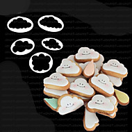 Moldes de bolos Uso Diário Plásticos