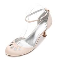 Mujer Zapatos Satén Primavera Confort / D'Orsay y Dos Piezas / Pump Básico Zapatos de boda Tacón Cono Dedo Puntiagudo Pedrería / Pajarita Jeu Images Footlocker p2sEWYIQ