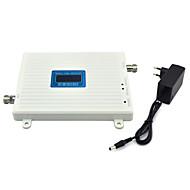 mobiltelefon 800mhz 850mhz signal booster cdma signal repeater forsterker med strømforsyning LCD-skjerm / hvit
