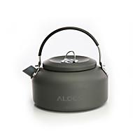 ALOCS Retkivesipannu Teekannut Kannettava Aluminium varten Piknik Retkeily ja vaellus Ulkoilu