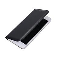 お買い得  携帯電話ケース-ケース 用途 Huawei社P9 Huawei社P9ライト Huawei カードホルダー フリップ フルボディーケース 純色 ハード PUレザー のために P10 Plus P10 Lite P10 Huawei P9 Lite Huawei P9 P8 Lite