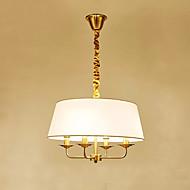 billiga Belysning-4-Light Trumma Hängande lampor Glödande - Glödlampa inkluderad, 110-120V / 220-240V Glödlampa inkluderad / 15-20㎡