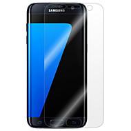 billiga Mobiltelefoner Skärmskydd-Skärmskydd för Samsung Galaxy S7 edge / S7 / S6 edge plus PET Displayskydd framsida Anti-fingeravtryck