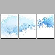 halpa -h2o tyyppi-l 3 paneelit seinärakennus käsin maalatut öljymaalaukset kankaalle moderni taideteos seinätaide 20x28inchx3