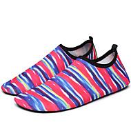 baratos Sapatos Masculinos-Homens Tecido Primavera / Verão Conforto Mocassins e Slip-Ons Tênis Anfíbio Verde / Black / azul / Arco-Íris